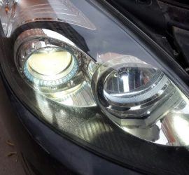 Установка ксенона в Hyundai I30 отчёт