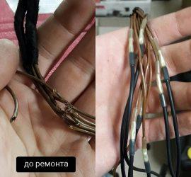 Восстановление оторванных проводов