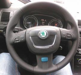 Фото руля Octavia RS