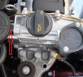 клапан вентиляции картера CFNA