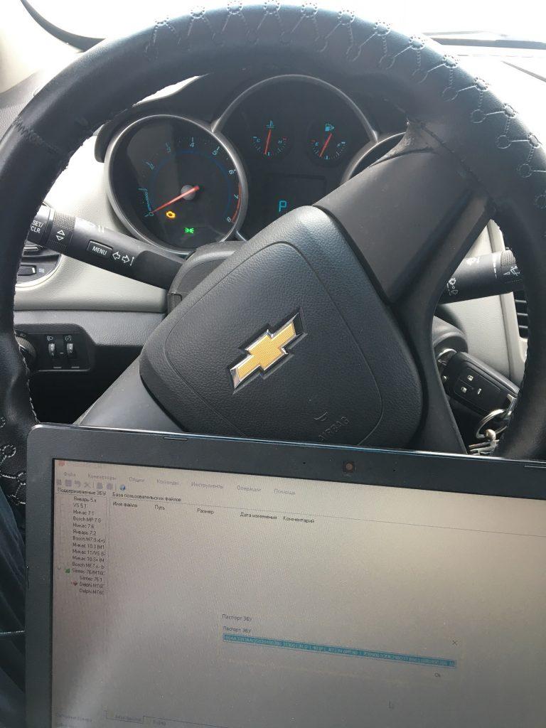 Чип тюнинг Chevrolet Cruze 1.6 AT
