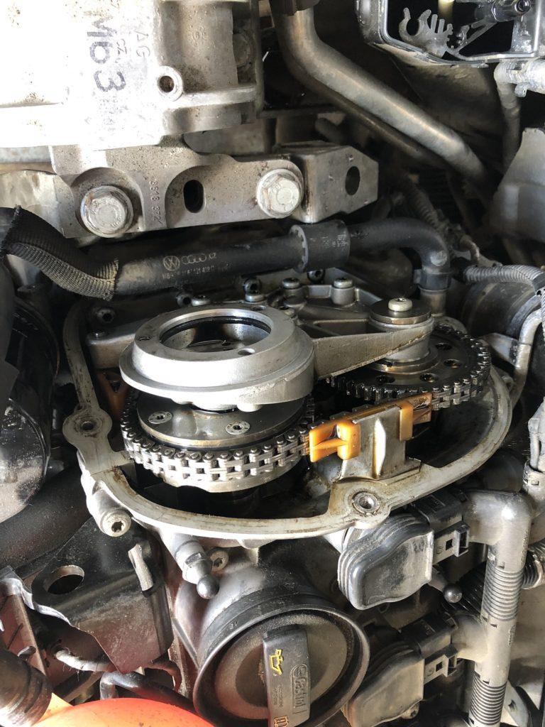 Замена цепи VW Passat CC 2.0 CCZA