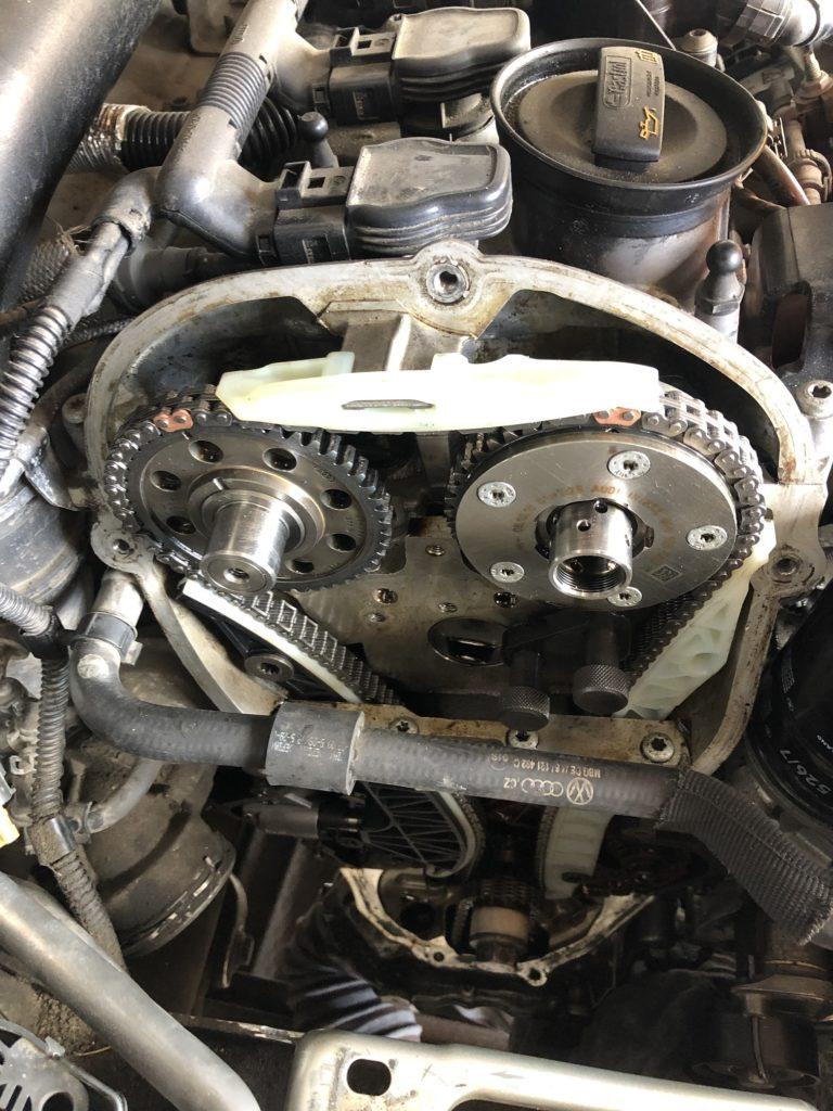 Замена цепи VW Passat CC 2.0 Tsi
