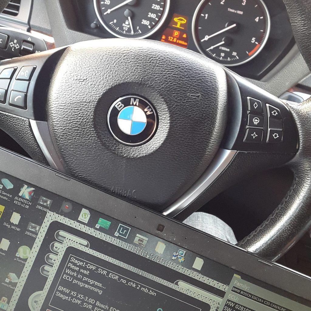 Чип тюнинг BMW X5 e70 3.0d 235 лошадей