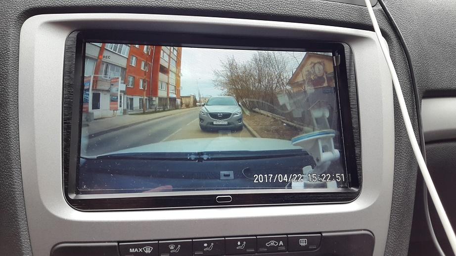 Штатный видеорегистратор Skoda Octavia A5